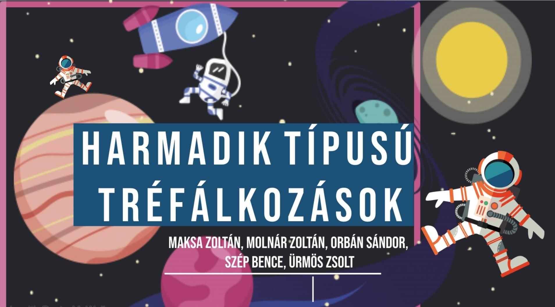 Maksa Zoltán kabaré - Szép Bence
